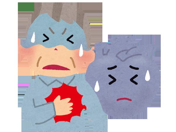心筋梗塞の対処